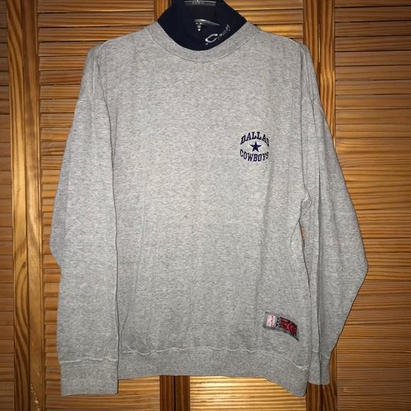 The Edge Other - The Edge Dallas Cowboys Turtleneck Sweatshirt